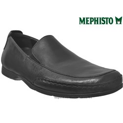 Mephisto Homme: Chez Mephisto pour homme exceptionnel Mephisto EDLEF Noir cuir mocassin