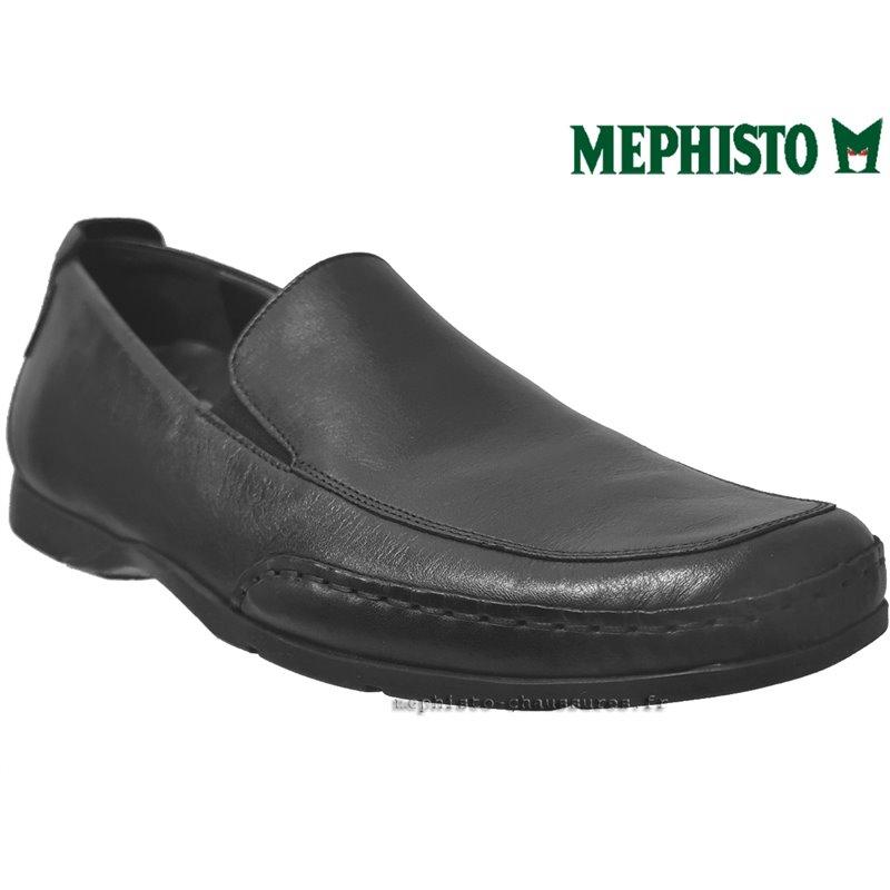 MEPHISTO Homme Mocassin EDLEF Noir cuir 10023
