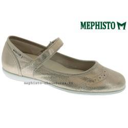 Mephisto femme Chez www.mephisto-chaussures.fr Mephisto CHARLOTE Doré nubuck ballerine