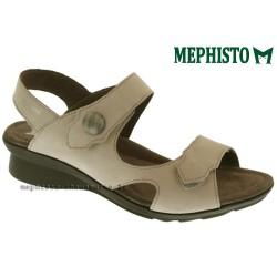 Sandale Méphisto Mephisto PRUDY Beige nubuck sandale