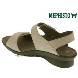 MEPHISTO Femme Sandale PRUDY Beige nubuck 12641