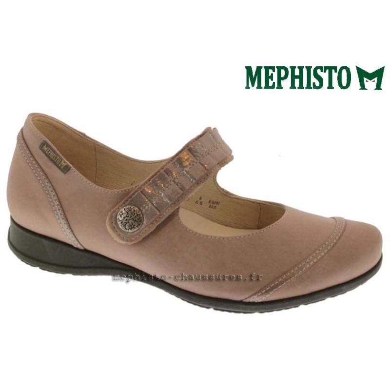 MEPHISTO Femme Scratch GERDINA E Beige cuir 13078