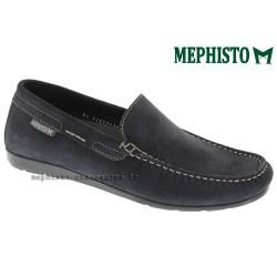 mephisto-chaussures.fr livre à Oissel Mephisto ALGORAS Marine daim mocassin