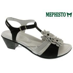 Sandale femme Méphisto Chez www.mephisto-chaussures.fr Mephisto ERUDIA noir et marron daim sandale