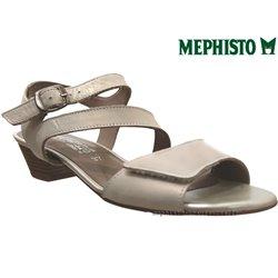 mephisto-chaussures.fr livre à Nîmes Mephisto CALYSTA Beige cuir nu-pied