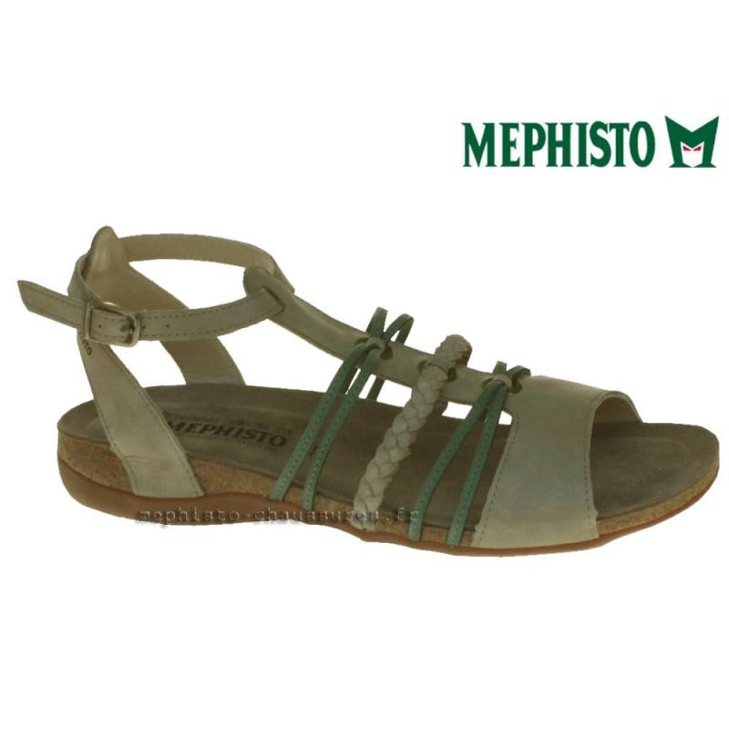 MEPHISTO Femme Sandale ADELA Gris cuir 13432