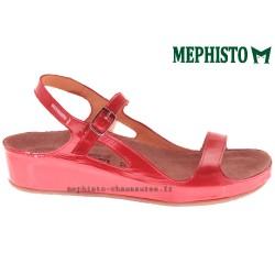 MEPHISTO Femme Sandale VANILLE rouge verni 13448