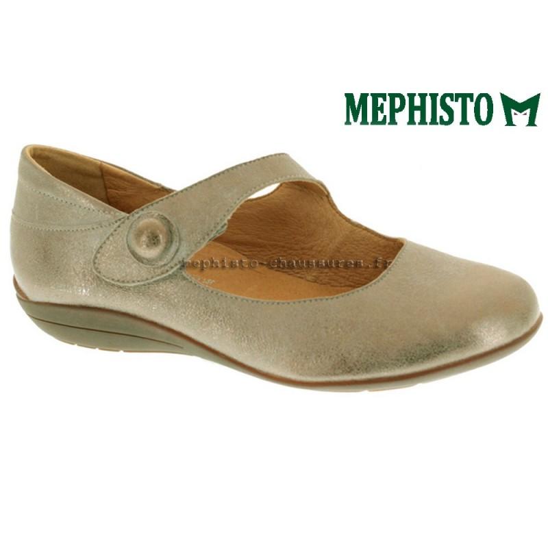 MEPHISTO Femme Ballerine ODALYS gris nubuck 13623