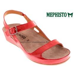 MEPHISTO Femme Sandale VANILLE rouge verni 14630