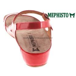 MEPHISTO Femme Sandale VANILLE rouge verni 14633