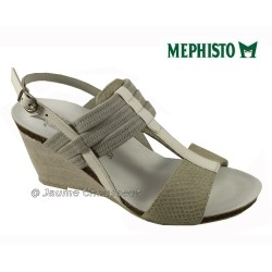 SANDALE FEMME MEPHISTO Chez www.mephisto-chaussures.fr Mephisto LESLIE Blanc cuir sandale