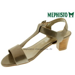 chaussures Femme MEPHISTO DIANA Taupe cuir brillant 15162
