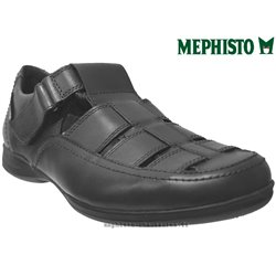 mephisto-chaussures.fr livre à Blois Mephisto RAFAEL noir cuir sandale
