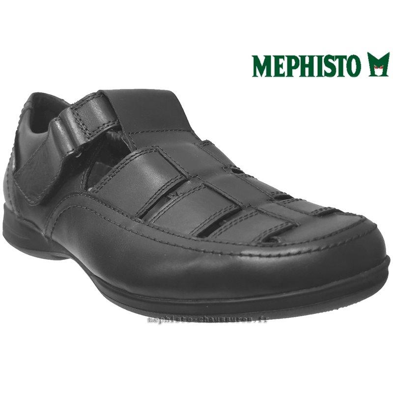 marque-mephisto, RAFAEL, noir cuir(16084)