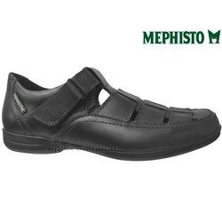 le pecq, RAFAEL, noir cuir, 42FR - EUR8 chez www.mephisto-chaussures.fr (16085)