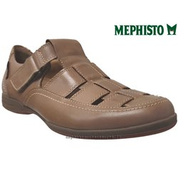 mephisto-chaussures.fr livre à Cahors Mephisto RAFAEL marron cuir sandale