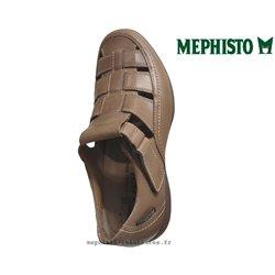 MEPHISTO Homme Sandale RAFAEL marron cuir 16123