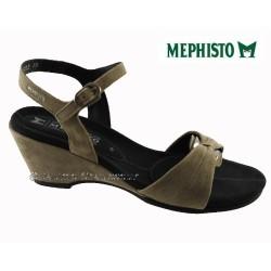 Mephisto femme Chez www.mephisto-chaussures.fr Mephisto CATLEEN Taupe daim sandale
