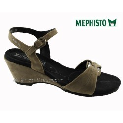Sandale femme Méphisto Chez www.mephisto-chaussures.fr Mephisto CATLEEN Taupe daim sandale