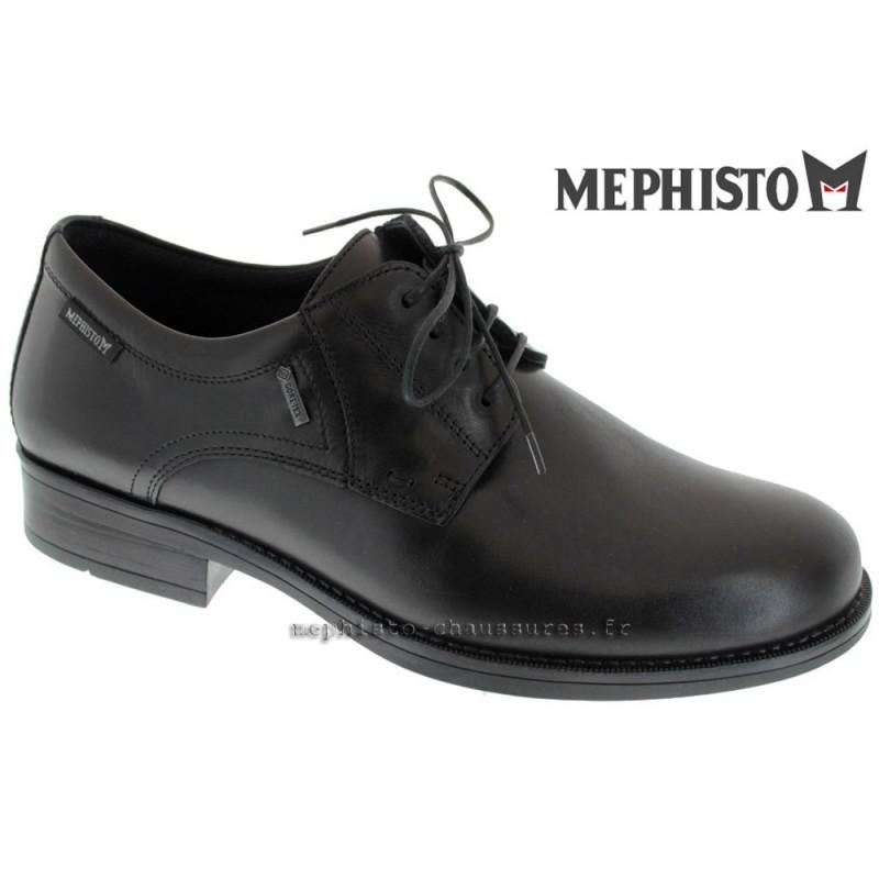 MEPHISTO Homme Lacet DAVID GT Noir cuir 16560