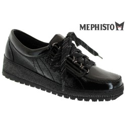Distributeurs Mephisto Mephisto LADY Verni noir lacets