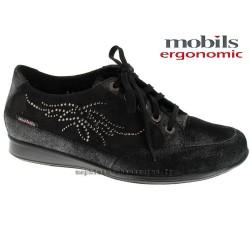 Mephisto lacet femme Chez www.mephisto-chaussures.fr Mobils AICHA SPARK Noir nubuck lacets