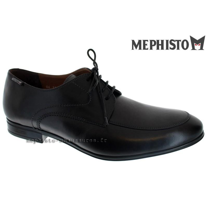 MEPHISTO Homme Lacet TOBIAS noir cuir 20003