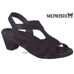 Sandale femme Méphisto Chez www.mephisto-chaussures.fr Mephisto CYRIELLE Noir nubuck sandale