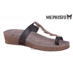 Méphisto tong femme Chez www.mephisto-chaussures.fr Mephisto ILEANE Noir cuir mule-passe-doigt