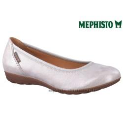 Mephisto femme Chez www.mephisto-chaussures.fr Mephisto EMILIE Gris brillant ballerine