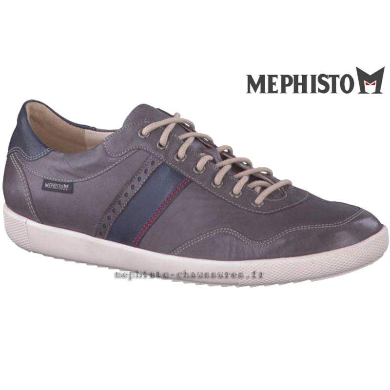 MEPHISTO Homme Lacet URBAN Gris cuir 20717