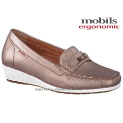 Mephisto femme Chez www.mephisto-chaussures.fr Mobils NORETTE Dore cuir mocassin