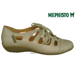 Mephisto lacet femme Chez www.mephisto-chaussures.fr Mephisto OTAVIA Gris clair cuir lacets