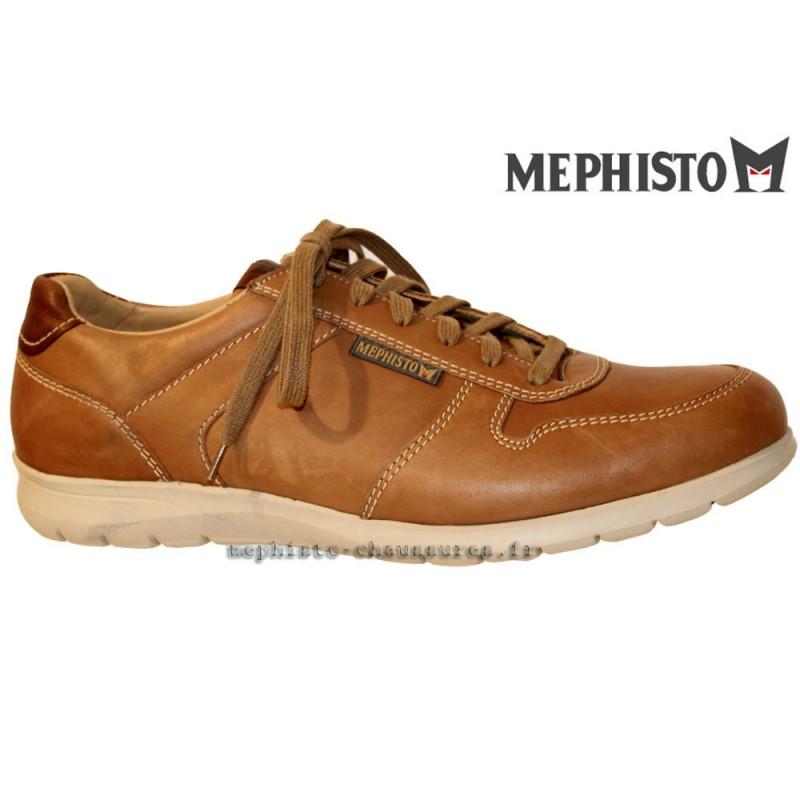 MEPHISTO Homme Lacet MAXIME Marron cuir 21457
