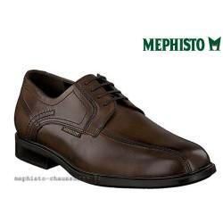 mephisto-chaussures.fr livre à Cahors Mephisto FABIO Marron cuir lacets