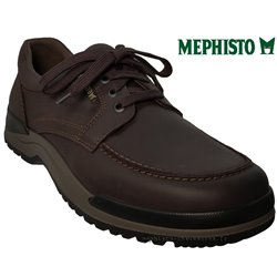 Mode mephisto Mephisto CHARLES Marron cuir lacets