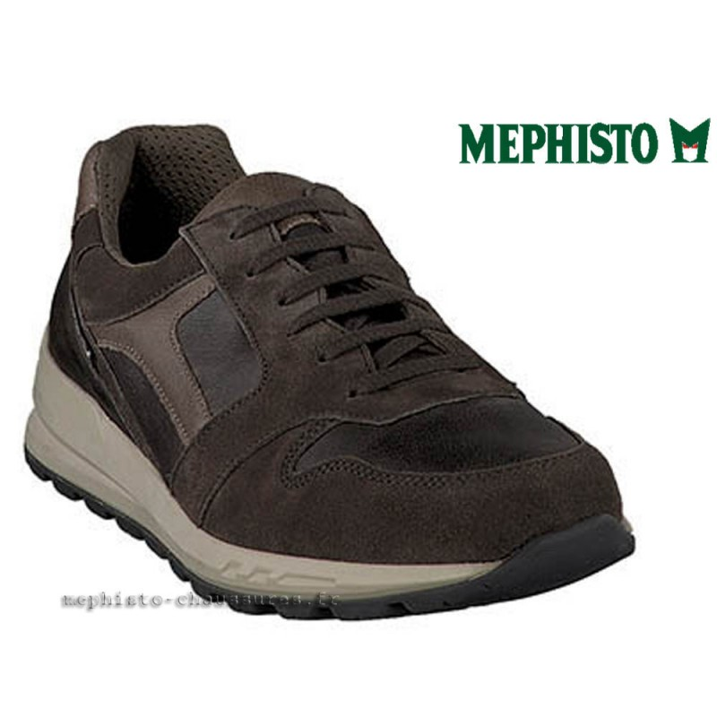 MEPHISTO Homme Lacet TRAIL Gris cuir 21654