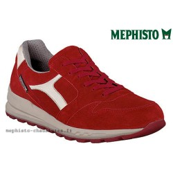 Mode mephisto Mephisto TRAIL Rouge velours lacets