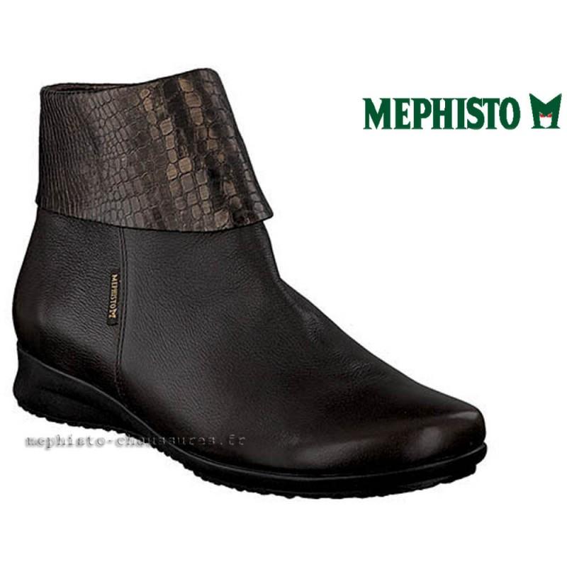 MEPHISTO Femme Bottine FIDUCIA Marron cuir 21677