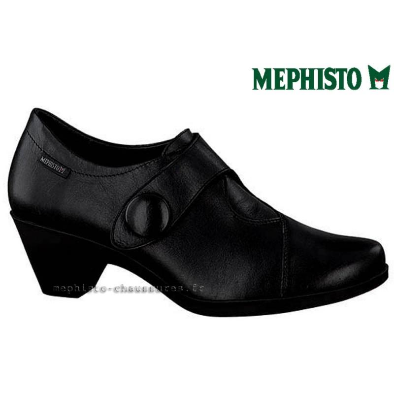 MEPHISTO Femme Talon MARYA Noir cuir 21761