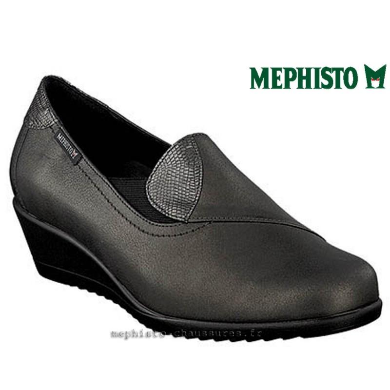 MEPHISTO Femme Mocassin GIACINTA kaki cuir 21772