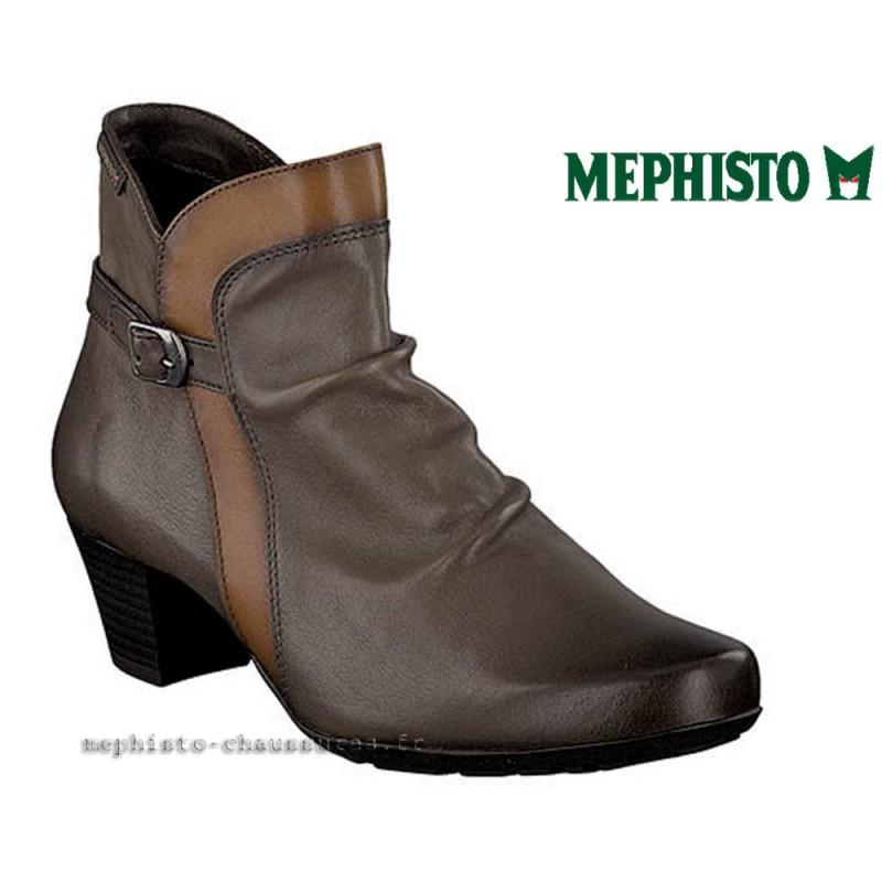 MEPHISTO Femme Bottine MELANIE Marron cuir 21784