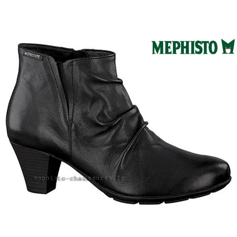 MEPHISTO Femme Bottine BELMA Noir cuir 21796