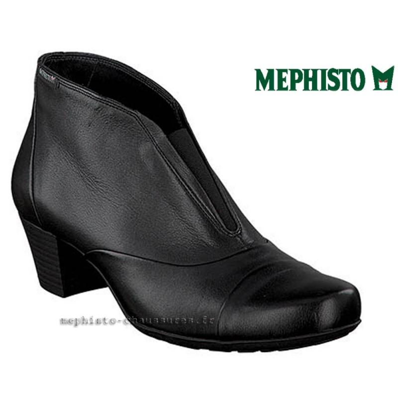 MEPHISTO Femme Bottine MADDIE Noir cuir 21820