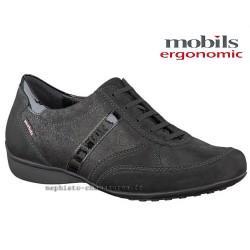 Mephisto lacet femme Chez www.mephisto-chaussures.fr Mobils FEDRA Noir cuir lacets
