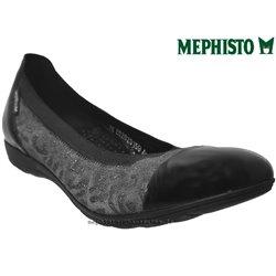 mephisto-chaussures.fr livre à Besançon Mephisto ELETTRA Noir cuir ballerine