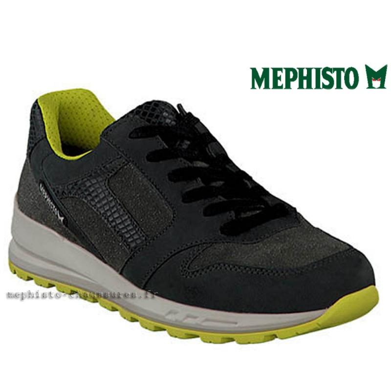 MEPHISTO Femme Lacet CROSS Gris cuir 22253