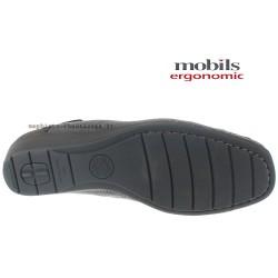 MOBILS de Mephisto Femme Mocassin NELLY Gris cuir 22667