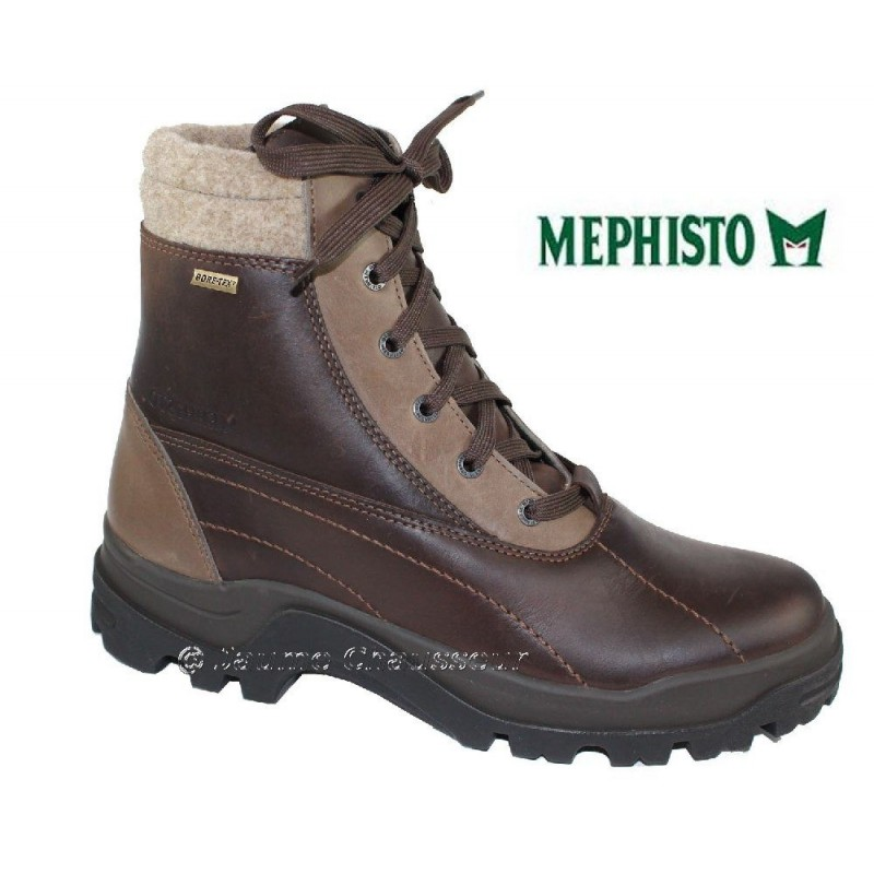 chaussures Homme MEPHISTO K2 GT Marron cuir 2304