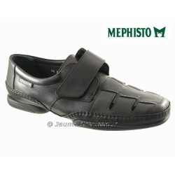 Mephisto Homme: Chez Mephisto pour homme exceptionnel Mephisto MARVIN Noir cuir sandale